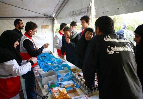 ۶۴ هزار نفر از زائران اربعین از خدمات رایگان جمعیت هلال احمر استان بهرهمند شدند