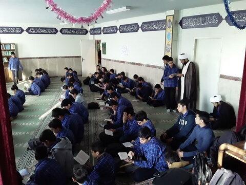تصاویر/ موکب دانش آموزی در مدرسه نور قائم(عج) به همت مبلغان طرح امین تهران