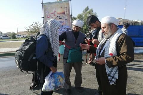 تصاویر/ خدمترسانی روحانیون شیعه و سنی در مرز خسروی