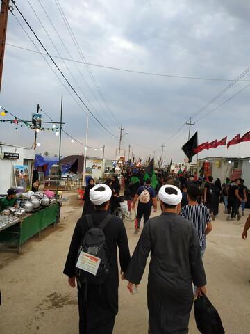 تصاویری از حضور روحانیون در مسیر بهشت