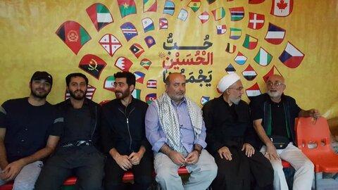 بازدید مدیرکل تبلیغات اسلامی مازندران و امام جمعه بابل از موکب های اربعینی