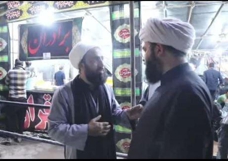 بازدید رئیس سازمان تبلیغات از فعالیتهای طلبههای خادم در پایانه مرزی مهران