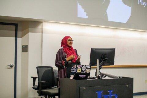 انجمن اسلامی دانشگاه بوفالو میزبان نشست «مبارزه با خشونت خانوادگی» بود