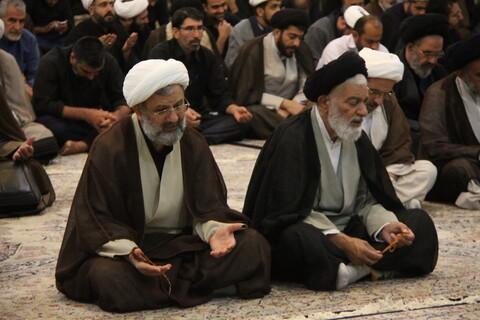 تصاویر/ مراسم دعا برای شفای آیت الله العظمی مکارم