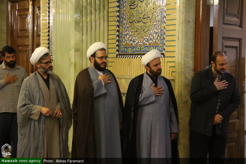 مراسم عزاداری سیدالشهدا(ع) و دعابرای سلامتی آیت الله العظمی مکارم شیرازی