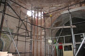 تسریع در بازسازی مسجد مدرسه سردارین قزوین/ تقدیر از خبرگزاری حوزه