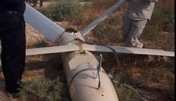 طائرة مسيرة مجهولة تسقط في خوزستان ايران