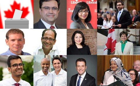 پیروزی بی سابقه مسلمانان در انتخابات سرتاسری کانادا