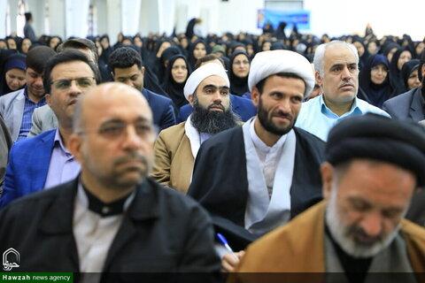 بالصور/ انعقاد مؤتمر الصلاة لمحافظات إيران في محافظة خراسان الجنوبية شمالي شرق البلاد