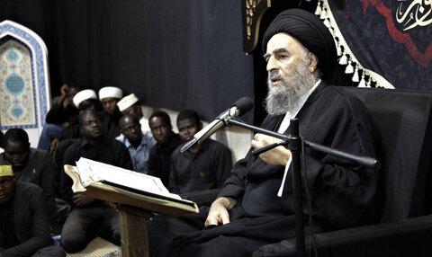 آیت الله محمد تقی مدرسی از علمای عراق