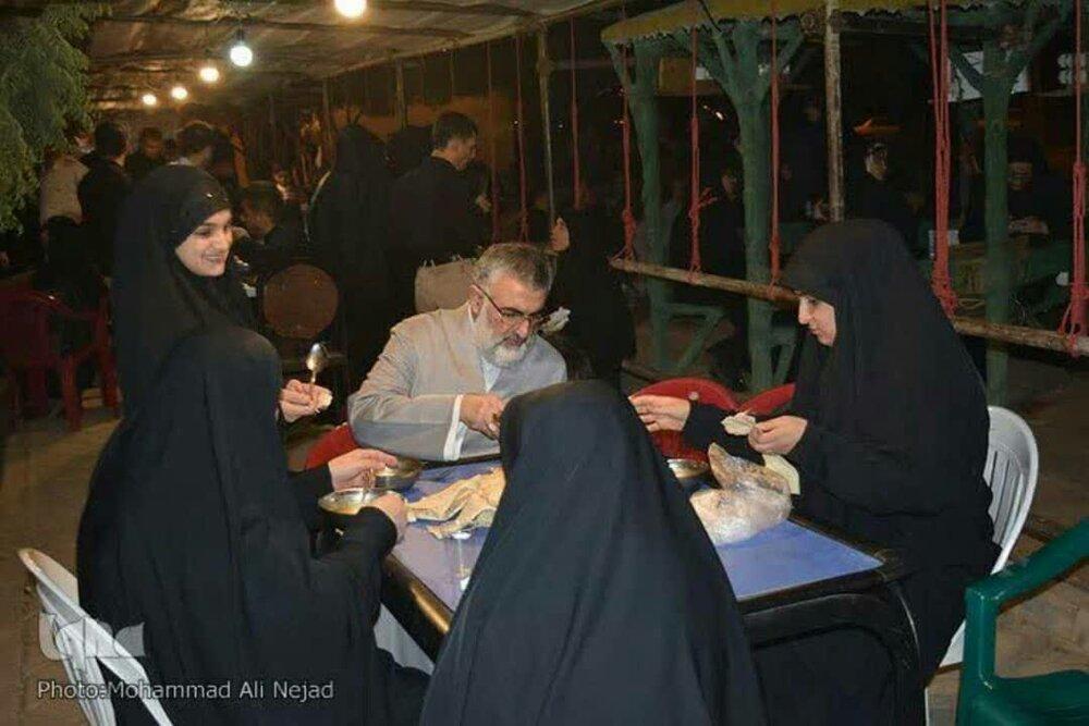 فعالیت های موکب شهیده بنت الهدی علی آباد در اربعین