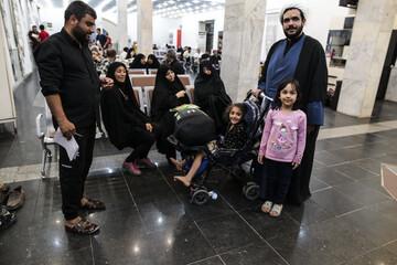 تصاویر/ اسکان زائران اربعین حسینی در اهواز (۱)