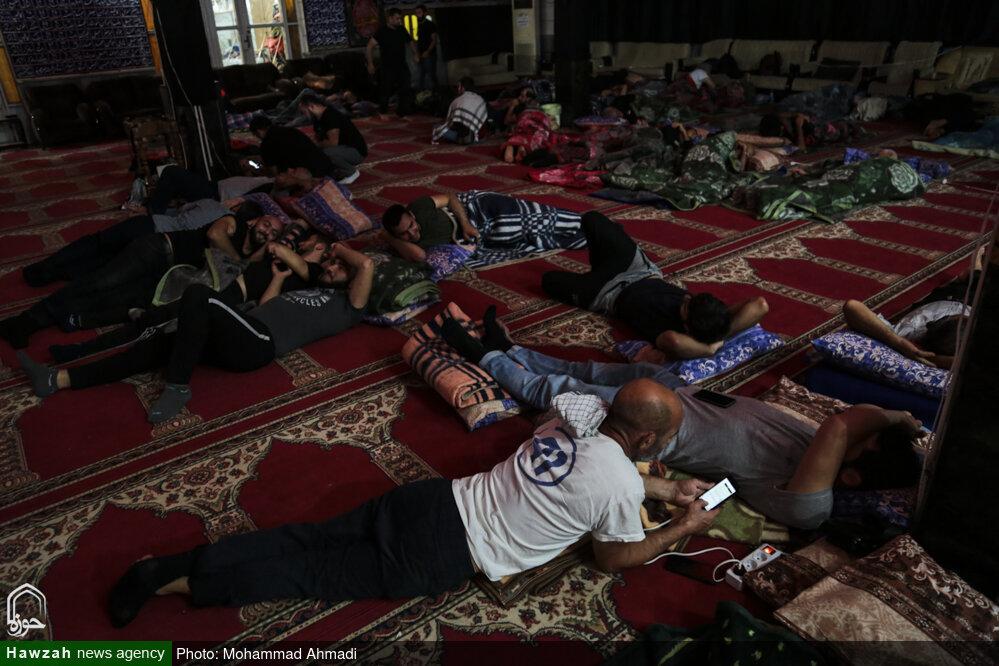 تصاویر/ اسکان زائران اربعین حسینی در اهواز (۲)