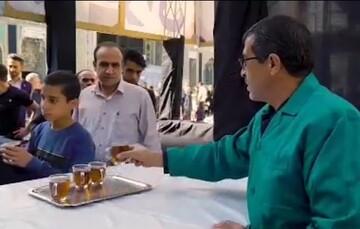 فیلم | راهاندازی «چایخانه حضرت» در حرم امام رضا علیهالسلام