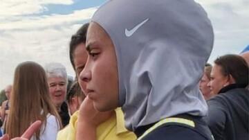 نوجوان مسلمان آمریکایی به سبب حجاب  در مسابقات دو میدانی رد صلاحیت شد