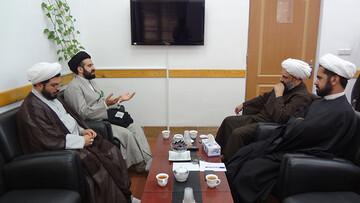 گسترش تعاملات مدرسه اسلامی هنر و دفتر تبلیغات اسلامی مورد بررسی قرار گرفت