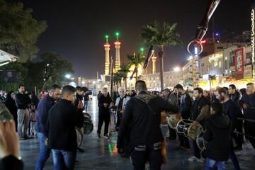 تصاویر/ مراسم عزاداری شب ۲۸ صفر در حرم حضرت معصومه(س)