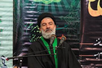 فریاد الله اکبر مردم دارالمومنین همدان در حمایت از سپاه