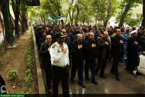 قافله عزاداری رحلت پیامبر اکرم(ص) و شهادت امام حسن(ع) دراصفهان