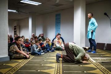 مسجد مینه سوتا در آمریکا میزبان پسران دانش آموز شد