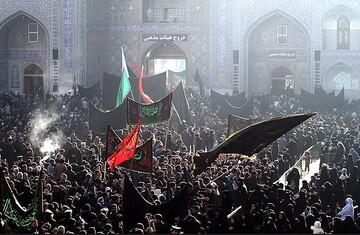 ایران اسلامی در غروب خورشید هشتم گریست/ نوای «یا رضا» در زمین و آسمان پیچید