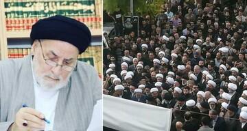 مراسم تشییع و خاکسپاری حجت الاسلام و المسلمین عاملی در لبنان برگزار شد+ تصاویر
