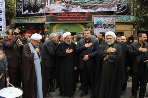 تصاویر/ حضور مسئولان مازندران در جمع هیئات مذهبی شهرستان بابل در مشهد مقدس-28 صفر