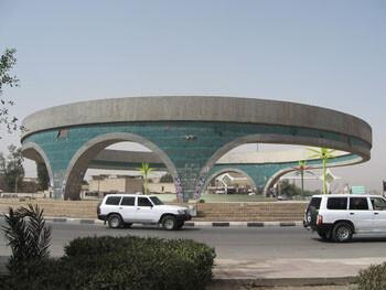 حضور جمعی از طلاب حوزه نجف در جمع تظاهراتکنندگان عراقی