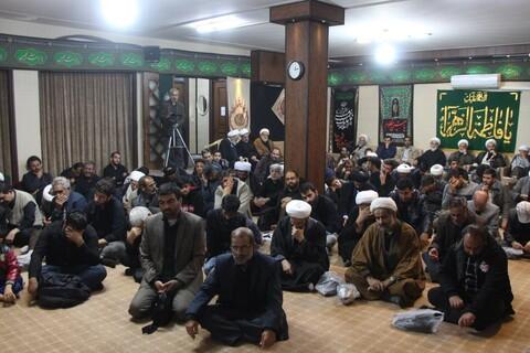 تصاویر/ مراسم سوگواری شهادت امام رضا(ع) در بیوت مراجع و علما