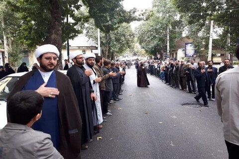 تصاویر/ عزاداری آخر ماه صفر در حوزه علمیه کرمانشاه