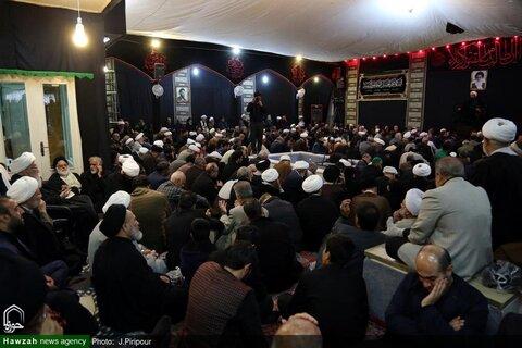 بالصور/ إقامة مجالس عزاء بمناسبة استشهاد الإمام الرضا (ع) في بيوت مراجع الدين والعلماء بقم المقدسة