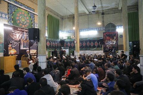 مراسم شهادت امام رضا علیه السلام توسط طلاب افغانستانی
