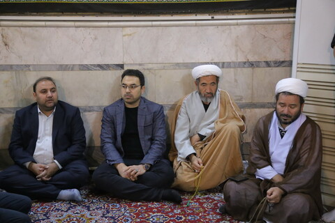 تصاویر/ سوگواری شهادت امام علی بن موسی الرضا(ع) توسط طلاب و دانش پژوهان افغانستانی