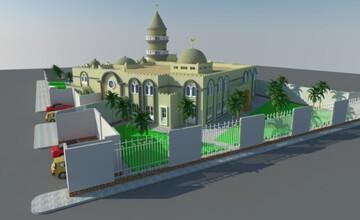 دومین مسجد بزرگ جیبوتی در آخرین مراحل ساخت و ساز قرار دارد