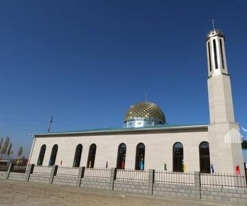 مسجد 85 هزار دلاری در یک  روستای قرقیزستان افتتاح شد