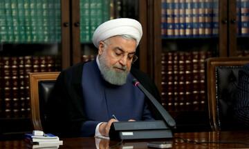 تسلیت روحانی در پی درگذشت پدر شهیدان پورمفرد