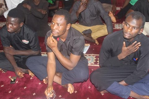 برگزاری مراسم رحلت پیامبر اکرم (ص)  در کشور غنا
