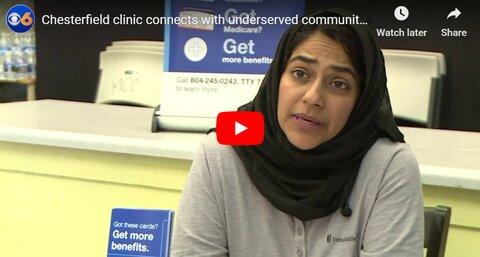 مسلمانان چسترفیلد، درمانگاه رایگانی برای نیازمندان ایجاد کردند