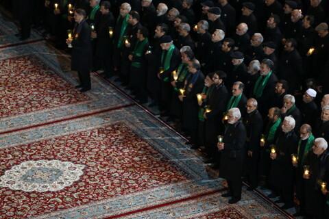 تصاویر/ مراسم خطبه خوانی شهادت امام رضا علیهالسلام در حرم رضوی
