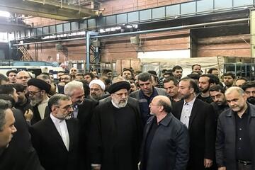 بازدید سرزده قاضی القضات از ماشین سازی تبریز/ فساد چوبِ لای چرخ تولید است