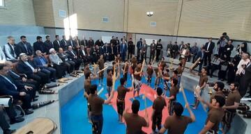 زورخانه امام حسن مجتبی(ع) در کرمانشاه  افتتاح شد