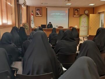 اردوی طلیعه حضور در مؤسسه آموزش عالی حوزوی معصومیه (خواهران) برگزار شد