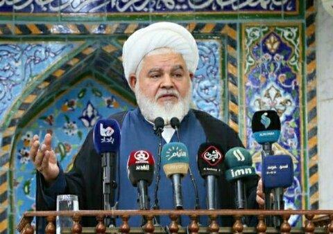 شیخ خالد النعمانی امام جمعه موقت نجف