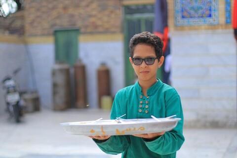 تصاویر/ موکب چهارده معصوم(ع) روستای نوفرست خراسان جنوبی پذیرای زائران پاکستانی
