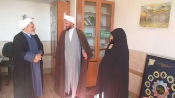 مدیر حوزه های علمیه خواهران کشور به کهگیلویه و بویراحمد سفر کرد+ عکس