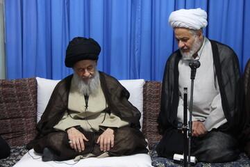 تصاویر/ دیدار فعالان عرصه مهدویت با حضرت آیت الله علوی گرگانی