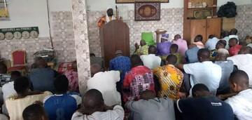 اقامه نماز جمعه در ساحل عاج + تصاویر