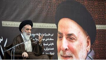 Officials, religious figures commemorate late scholar Morteza Ameli at Imam Reza (AS) holy shrine