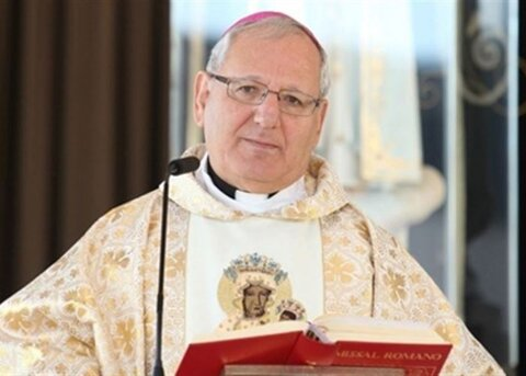 لوئیس رافائل ساکو رئیس شورای کلیساهای کاتولیک خاورمیانه