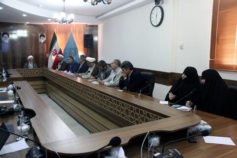 تصاویر/ نشست کمیته همکاریهای حوزه و آموزش و پرورش خراسان شمالی